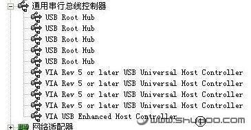 设备管理器中没有USB设备