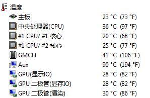主板AUX温度高