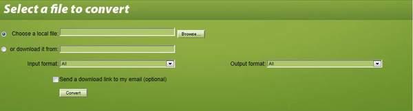在线转换文件格式