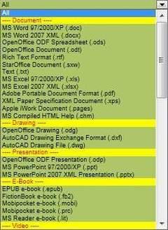转换多种文件格式