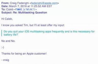强制关闭后台应用不能延长iPhone续航